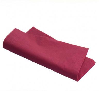 Serviette de Table en Intissé Rouge