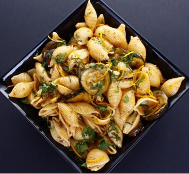 Salade de Sedanini Rigate au Pesto Rouge