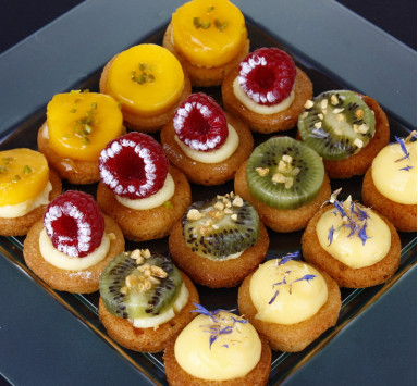 MINI TARTES AUX FRUITS