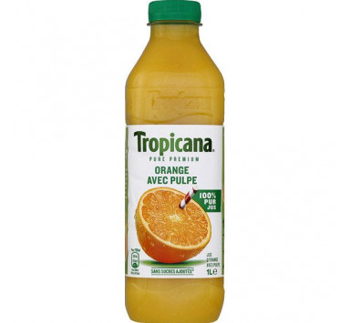 Jus d'Orange TROPICANA