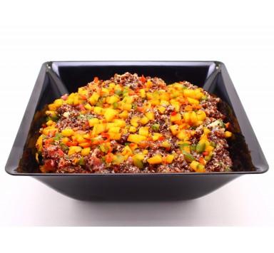 Salade de Quinoa Rouge au Fenouil et Effiloché de Poulet